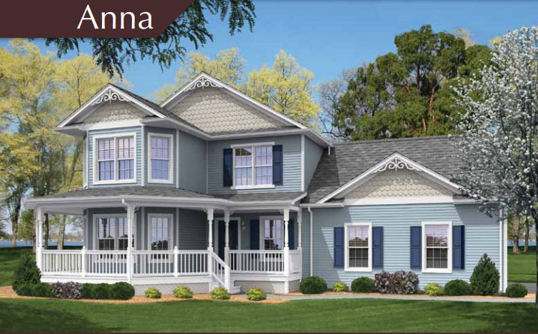 Tidewater Custom - The Anna Traditional Two-Story Modular Floorplan in Hampton Roads, VA