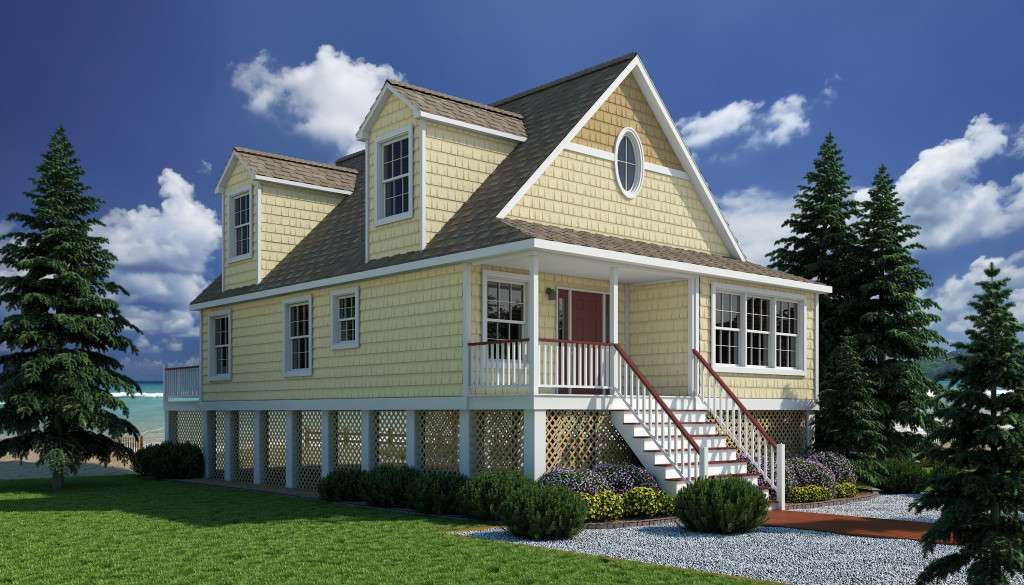 Cape Cod Modular Home Design House Plans Hampton Virginia
