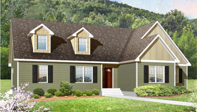 Tidewater Custom - Chapel Hill Ranch Style Modular Floor Plan in Smithfield, VA