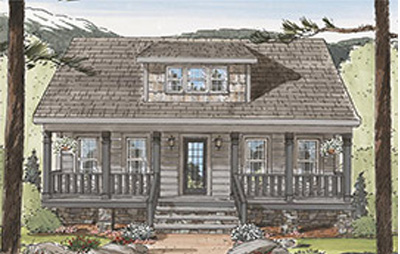 Tidewater Custom Modular The Craftsman Cottage II