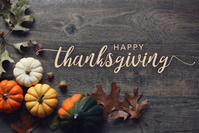 Happy Thanksgiving From Tidewater Custom Modular Homes
