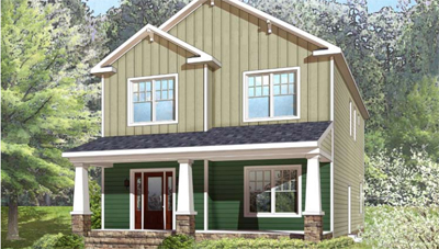 The Stylish Lenoir Two-Story Modular Home - Charles City, VA