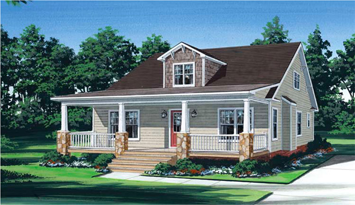 Modular Craftsman Home at Chesapeake, VA