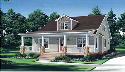 Tidewater Custom Modular Homes - Cottage Style Home in Suffolk, VA