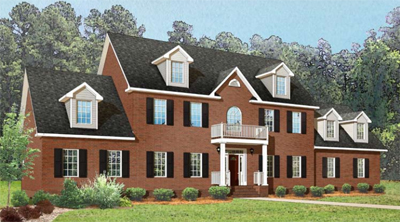 Tidewater Custom Modular Homes - traditional two-story modular home in Smithfield, VA