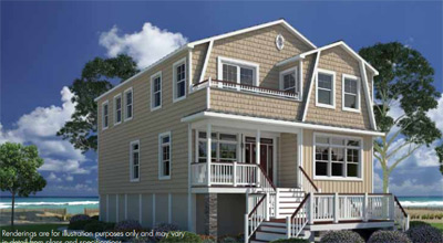 Tidewater custom modular home in Hampton Roads, VA