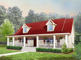 Tidewater Modular Homes - Ranch style modular home in Smithfield, VA