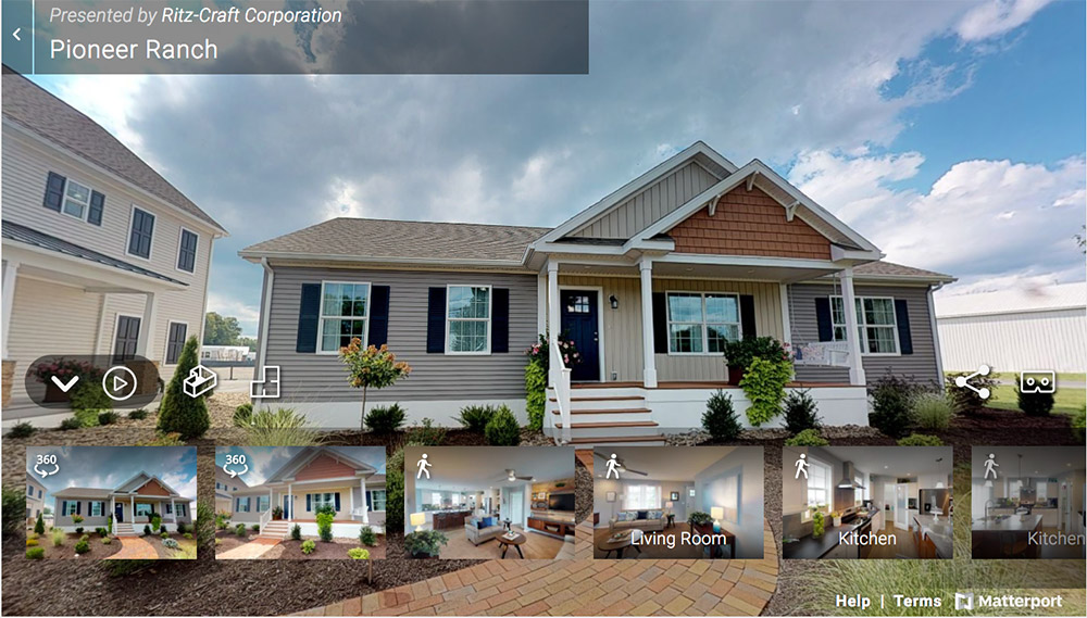 Tidewater Custom Modular Homes - Ranch-style modular homes