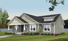 Tidewater Custom Modular Homes - Ranch style modular home in Windsor, VA