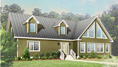 Tidewater Custom Modular Homes - Southport Vacation style Modular Floor Plan in Hampton Roads, VA