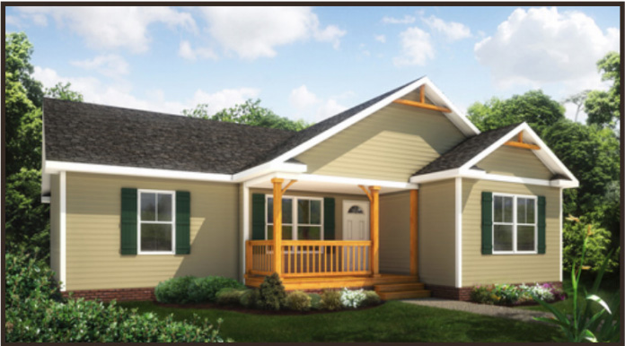 Tidewater Custom Modular Homes The Timberland I style modular home