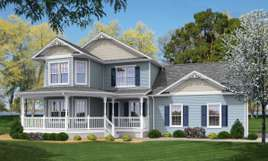 TRADITIONAL TWO STORY MODULAR HOMES