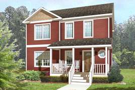 TRADITIONAL TWO-STORY MODULAR HOMES