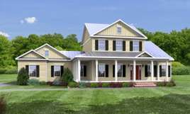 The Bedford Traditional Two Story Style Modular Home Lets