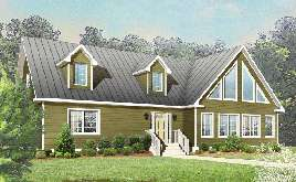Modular homes with cathedral ceilings for Tidewater modular homes